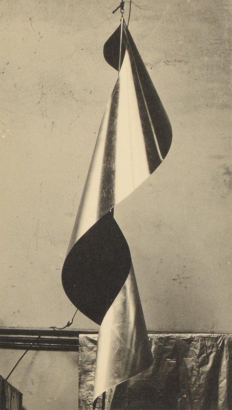 MAN RAY LAMP SHADE PHOTOGRAPH 1952