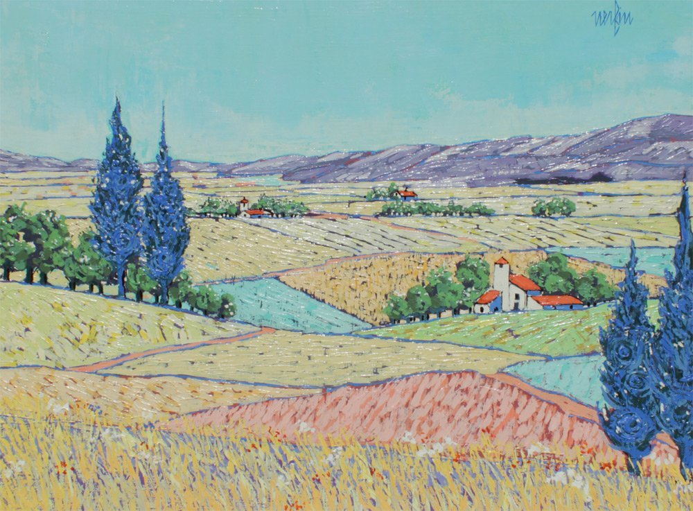JEAN NERFIN FRENCH LANDSCAPE PAINTING
