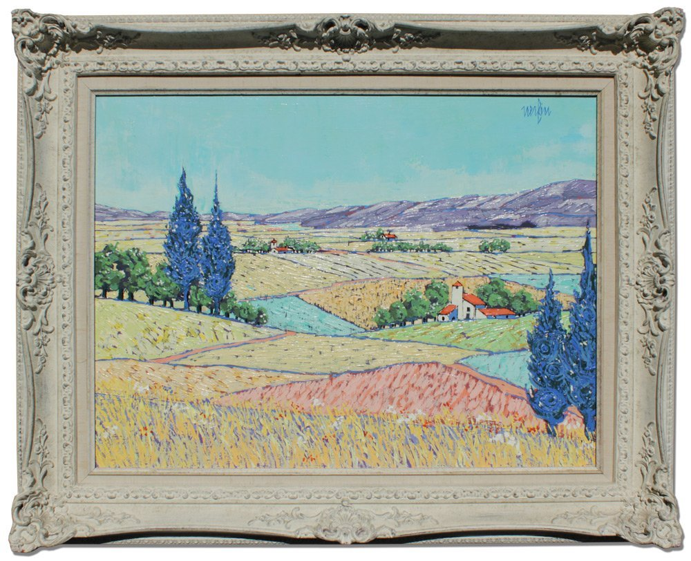 JEAN NERFIN FRENCH LANDSCAPE PAINTING - 2