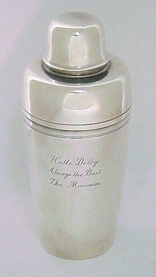 TIFFANY & Co STERLING COCKTAIL SHAKER
