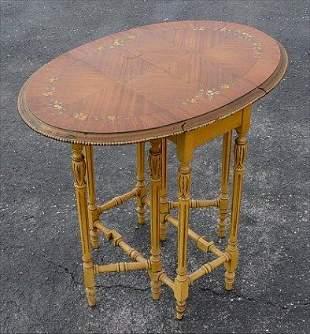 20TH C. DIMINUTIVE GATE LEG TABLE