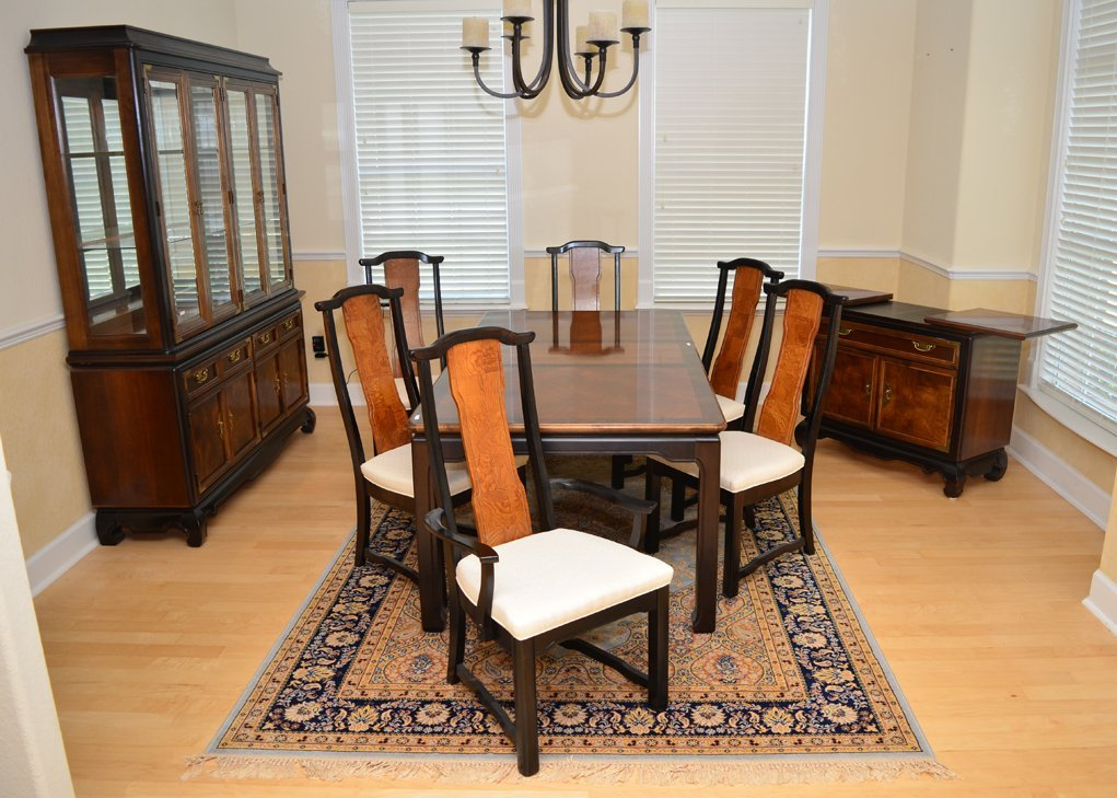 Broyhill Ming Collection Dining Set Top Chair Table Room Furniture