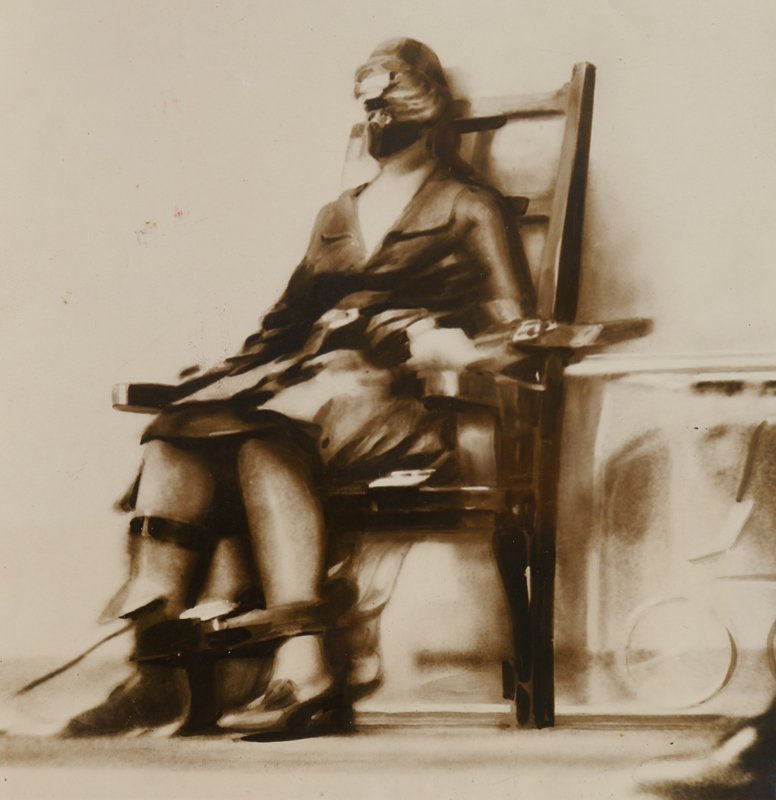 1928 RUTH SNYDER ELECTROCUTION PHOTOGRAPH