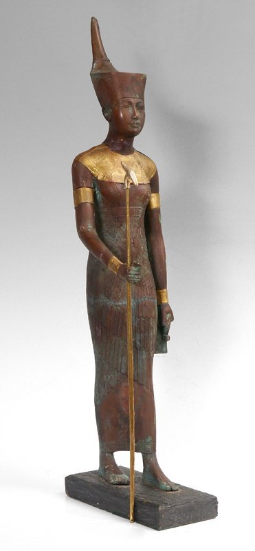 EGYPTIAN BRONZE FIGURE