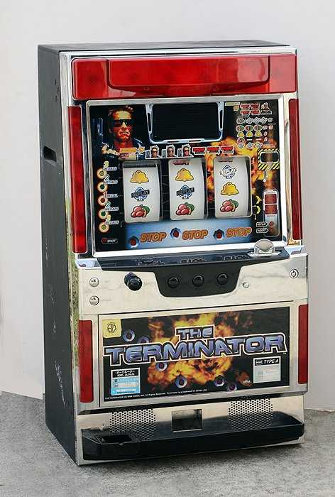 Japanese Terminator Pachislo Slot Machine