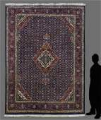 "20 YR OLD PERSIAN BIJAR HK WOOL RUG 8'10"" x 11'7"""