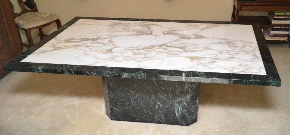 ITALIAN MARBLE TABLE - DINING BAKERS CONFERENCE