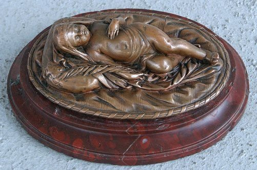 3: ORIENTALIST SCULPTURE OF BABY