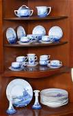 33 PC ROSENTHAL DELFT CHINA