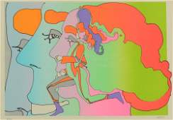 PETER MAX LITHOGRAPH ARTIST PROOF