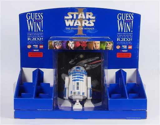 Star Wars R2d2 Lego Target Store Display