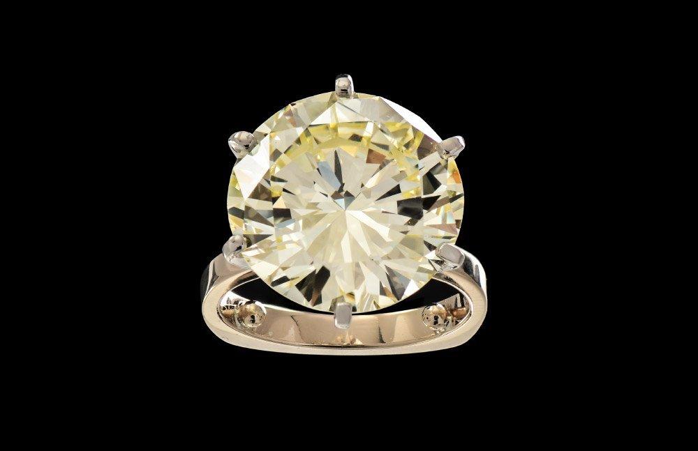 9.87 CT DIAMOND SOLITAIRE VS1 R-S COLOR