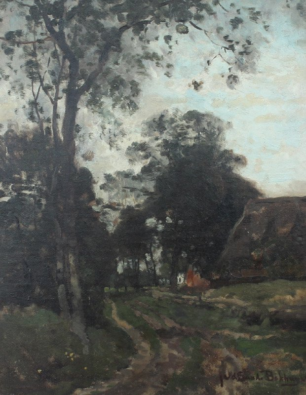 JULIUS BAKHUIJZEN DUTCH PAINTING