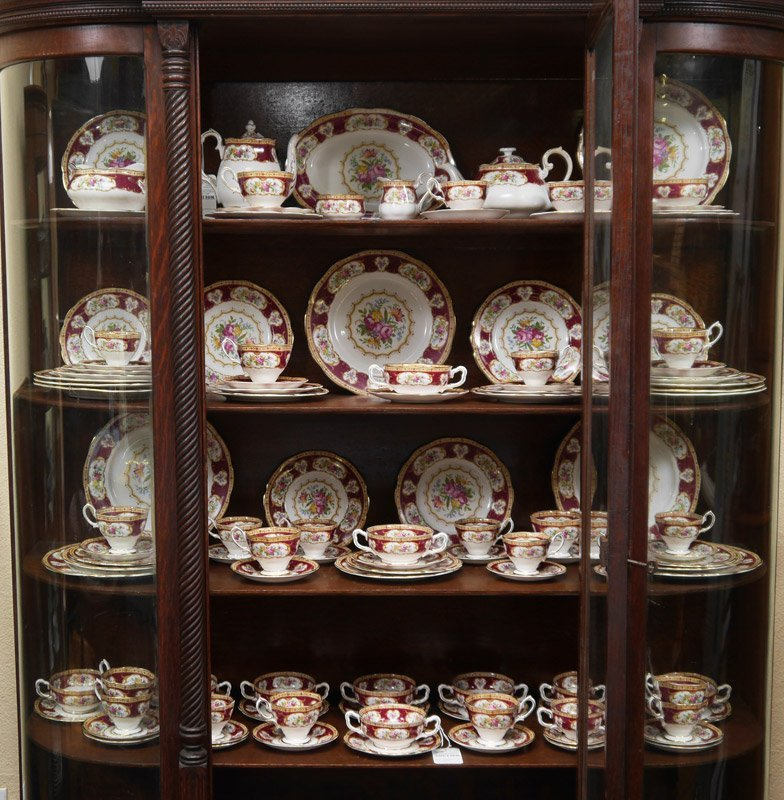 ROYAL ALBERT LADY HAMILTON FINE CHINA SERVICE 112