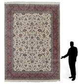 """INDO-PERSIAN HAND KNOTTED WOOL RUG 10' x 13'5"""""""