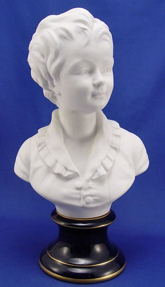 1007: FRENCH LIMOGES PARIAN BUST