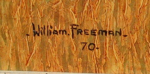 1262: EXCEPTIONAL WILLIAM FREEMAN AUSTRALIAN PAINTING - 2