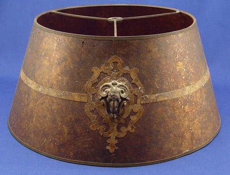 1380: VINTAGE MICA LAMP SHADE - 3