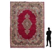 """INDO-PERSIAN HAND KNOTTED WOOL RUG 10'1"""" x 13'5"""""""
