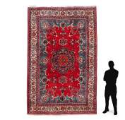 """PERSIAN HAND KNOTTED WOOL RUG 7'6"""" x 11'5"""""""