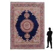 PERSIAN KERMAN HAND KNOTTED WOOL RUG 99 x 125