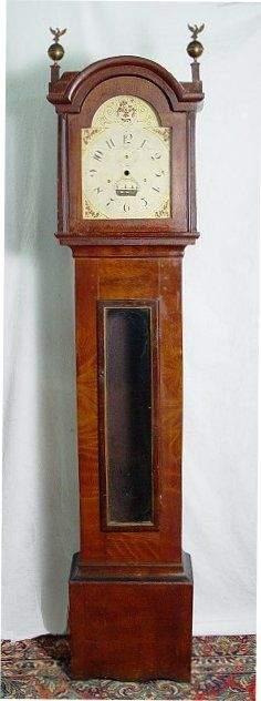 S. HOADLEY TALL CASE FOR CLOCK