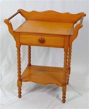 ONE DRAWER AMERICAN COUNTRY WASHSTAND