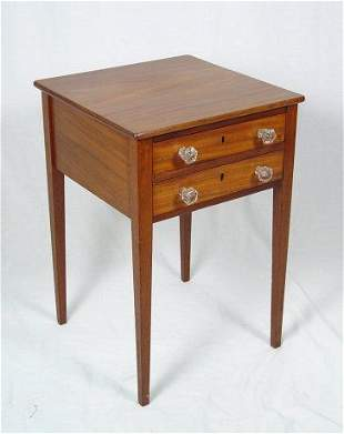 TWO DRAWER WORK STAND