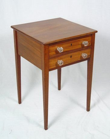 1014: TWO DRAWER WORK STAND
