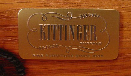 27: KITTINGER NEWPORT REPRODUCTION SECRETARY DESK - 6