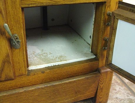 331: RANNEY GOLDEN OAK ICE BOX - 4