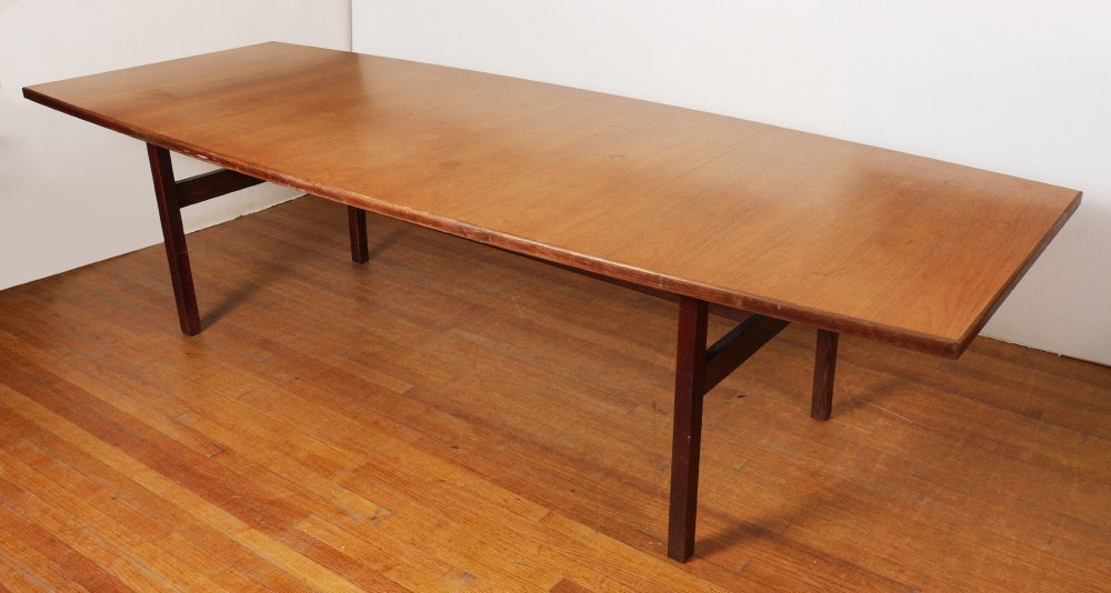 JENS RISOM MID CENTURY CONFERENCE TABLE
