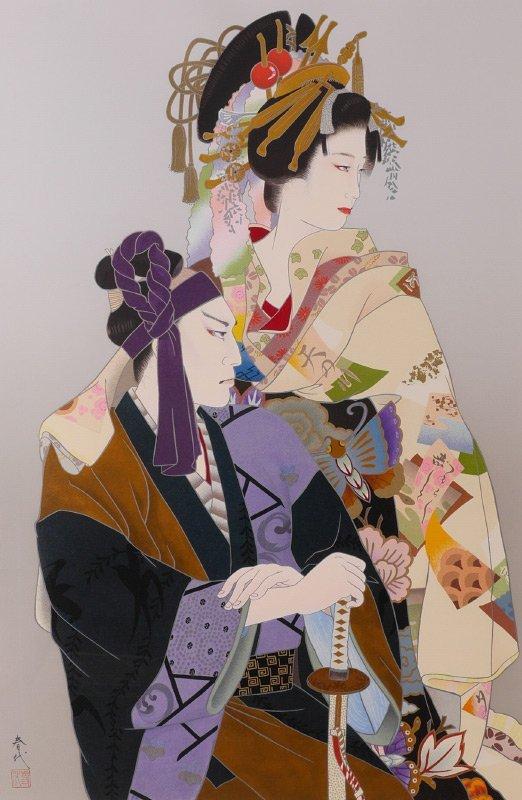 HARUYO SERIGRAPH SUKETOKU