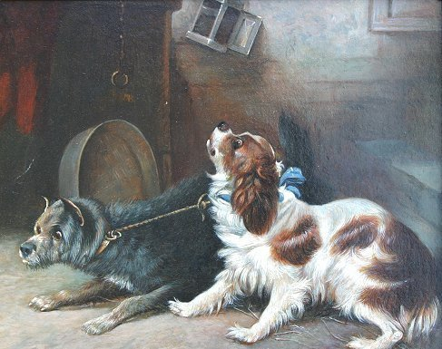 3: ARMFIELD QUALITY TERRIER PAINTING