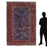 """PERSIAN HAND KNOTTED WOOL RUG 5'8"""" x 8'"""