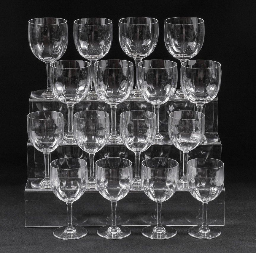 16 BACCARAT MONTAIGNE CRYSTAL STEMS