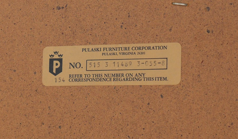 PULASKI FURNITURE ILLUMINATED DISPLAY CABINET - 3