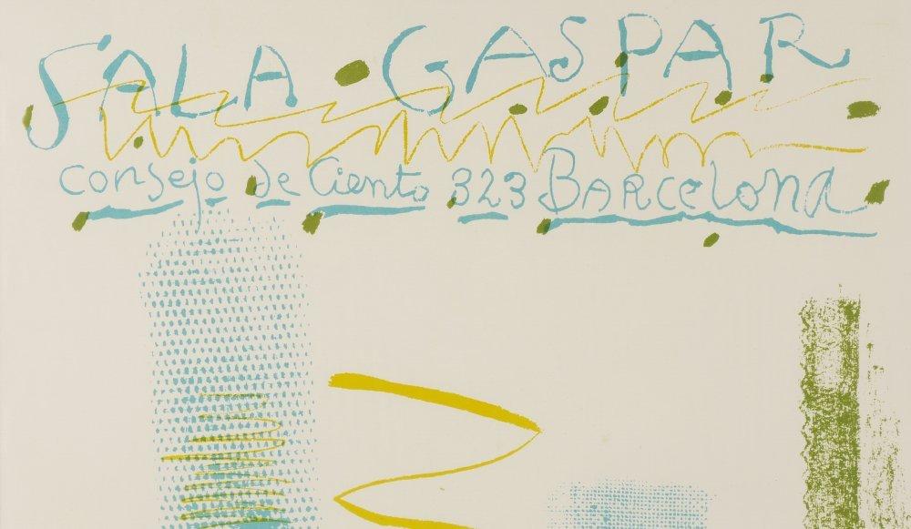 PABLO PICASSO POSTER FOR SALA GASPAR 1961 - 3