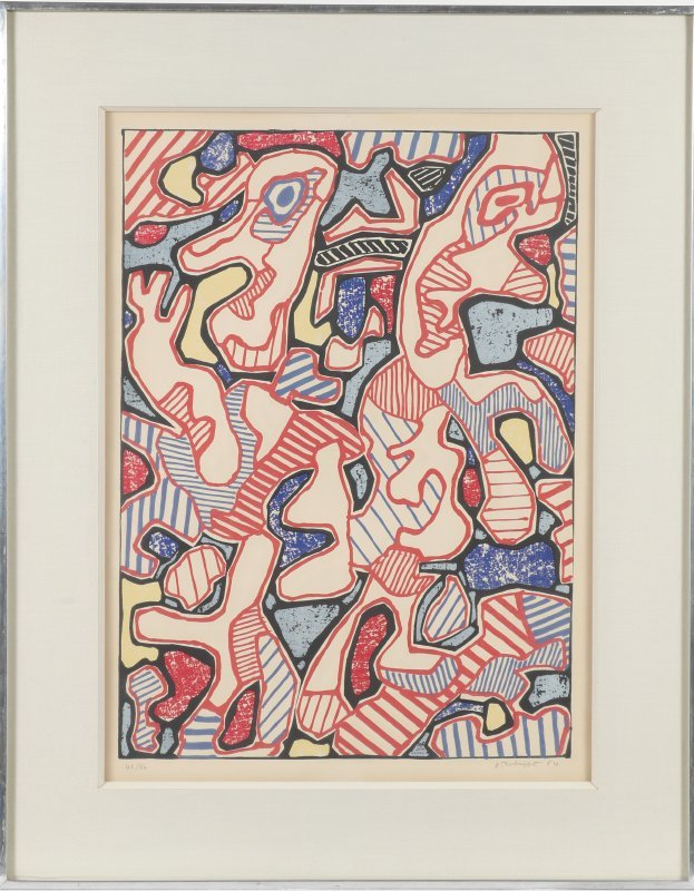 "DUBUFFET LITHOGRAPH ""AFFAIRMENTS"" 1964 - 2"