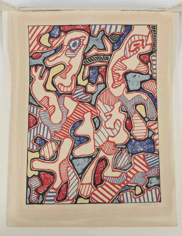 "DUBUFFET LITHOGRAPH ""AFFAIRMENTS"" 1964 - 5"