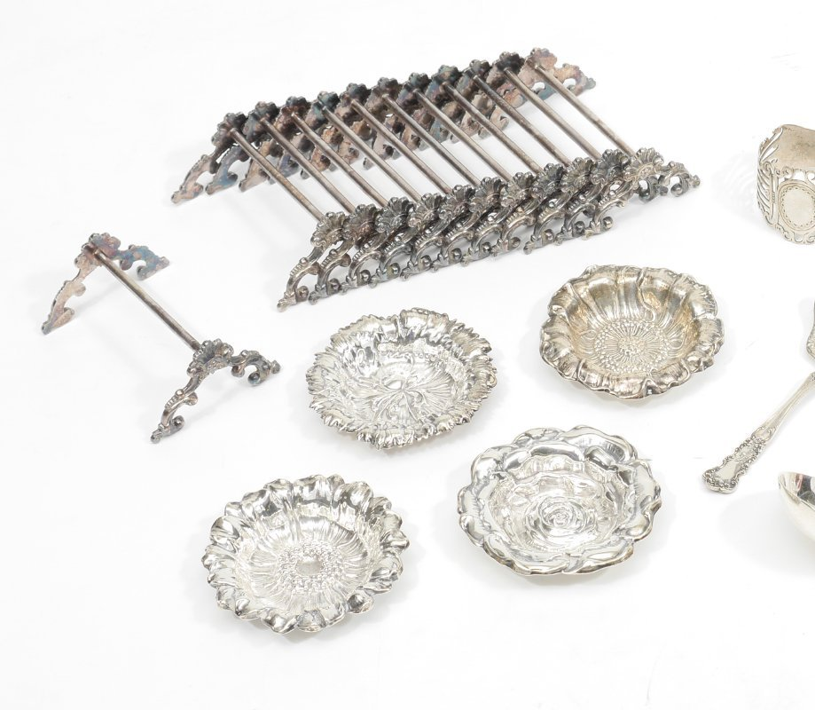 ESTATE COLLECTION OF STERLING & SILVERPLATE - 2