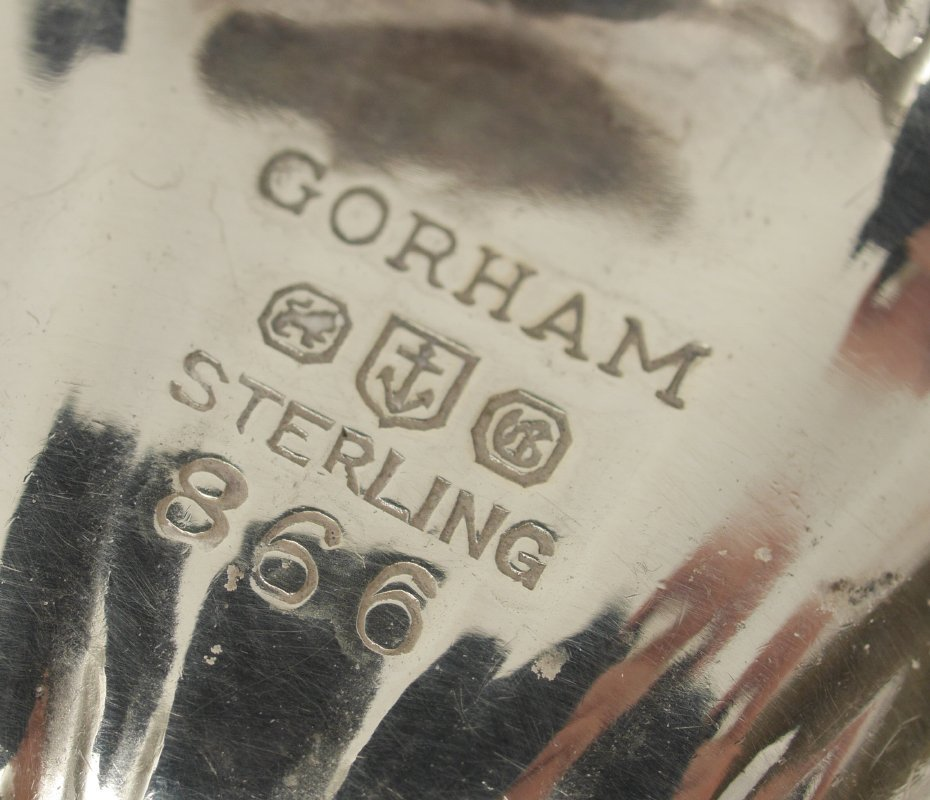 ESTATE COLLECTION OF STERLING & SILVERPLATE - 9