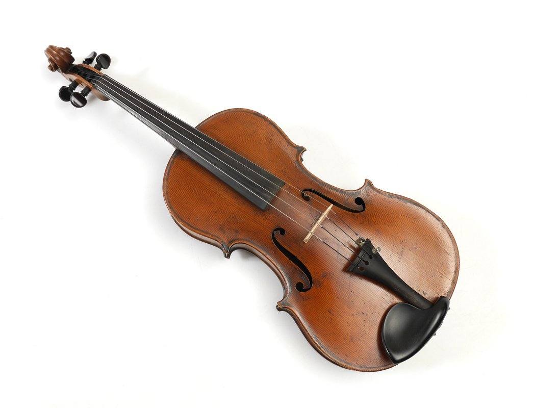 VINTAGE SMALL VIOLA LABELED STRADIVARIUS