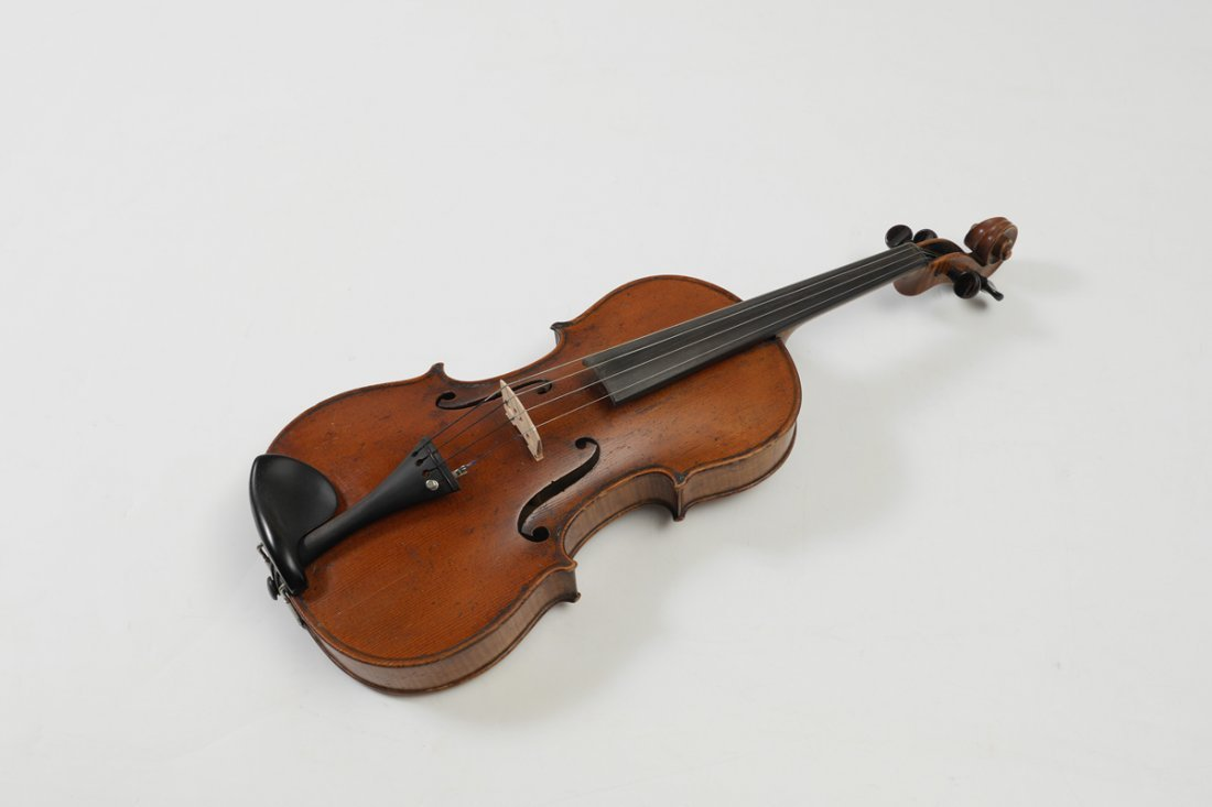 VINTAGE SMALL VIOLA LABELED STRADIVARIUS - 2