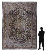 PERSIAN HAND KNOTTED WOOL RUG, 10' x 12'11""