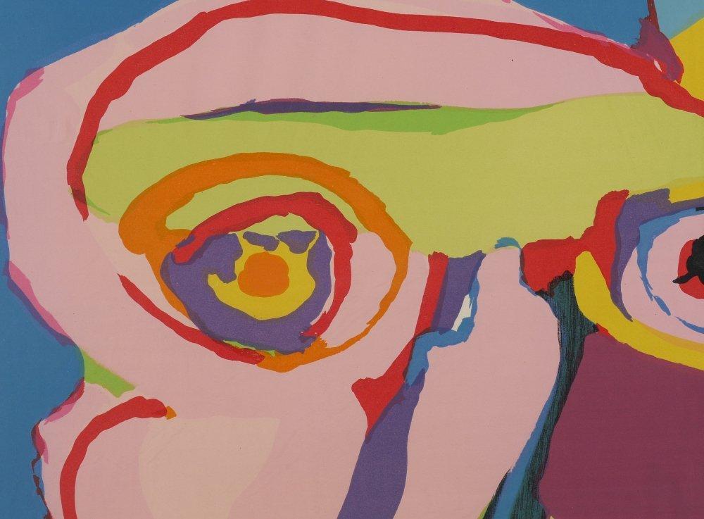 KAREL APPEL 'HEAD' LITHOGRAPH - 2