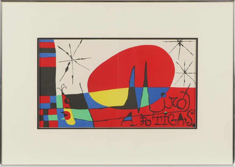 MIRO LITHOGRAPH FROM DERRIERE LE MIROIR - 2
