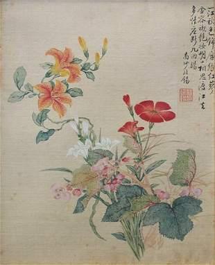 JIANG TINGXI ATTRIB. 18TH C. CHINESE PAINTING