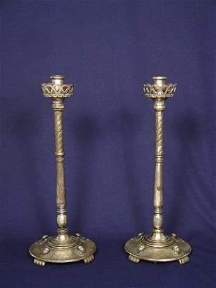 SIGNED OSCAR BACH TABLE LAMP BASES