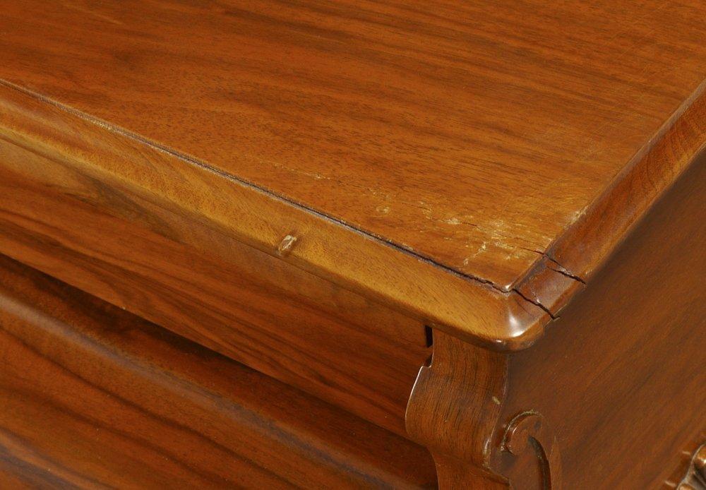 KNABE BURL WALNUT BABY GRAND PIANO - 4